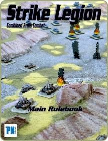 Strike Legion rules cover