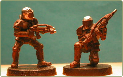 Remnant Forces miniatures