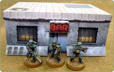 New 25/28mm paper models at Germy co uk - Tabletop Gaming News – TGN