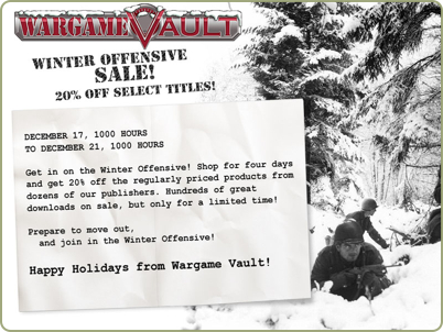 Winter Offensive Sale