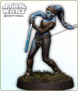 Knight Models release Aayla Secura - Tabletop Gaming News – TGN