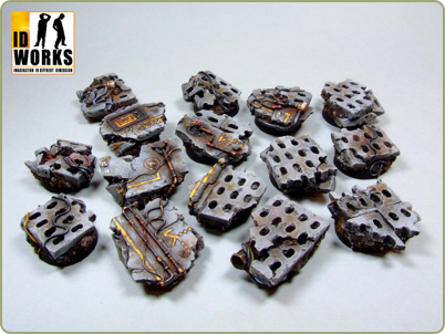 25mm Concrete bases