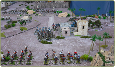 A view of part of the Indian Mutiny game