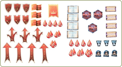Fantasy General's & Fantasy Wizard's Token Sets