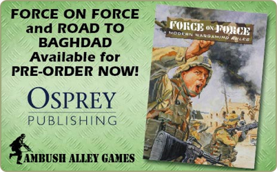 Force on Force and Road to Baghdad pre-orders
