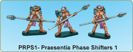 Praesentia Phase shifters