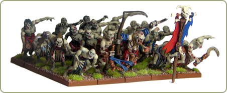 Zombie Unit with Command