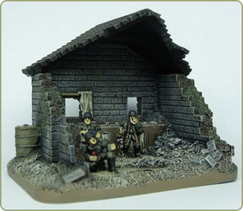 Britcon Germans having Lunch Objective Marker