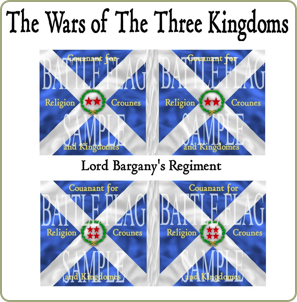 Scots Covenanters flags