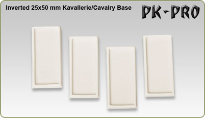 Inverted cavalry bases