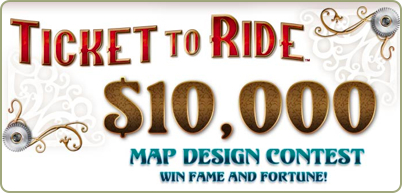 Ticket to Ride Map Design Contest