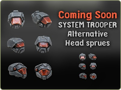 System Trooper Heads
