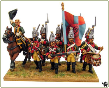 18th century Russian Infantry