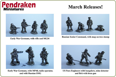 March 2011 historical miniature releases