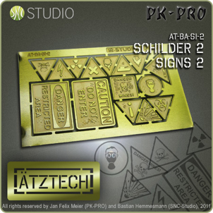 Aetztech brass etched products