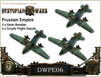 Prussian Empire Bombers