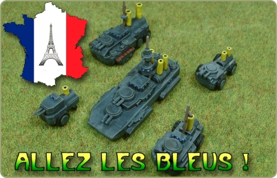 French Land Ironclads