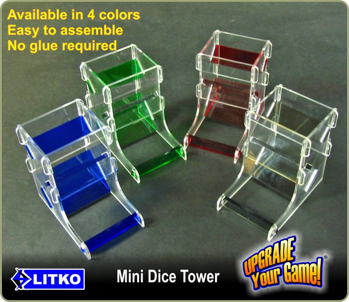 Mini-Dice Towers