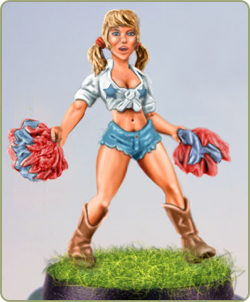 Lucy Cowgirl Cheerleader
