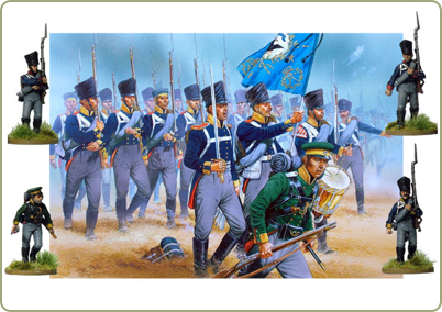 Napoleonic Prussian Infantry 1813-15