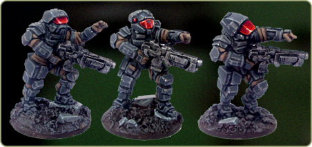 System Trooper squad leaders