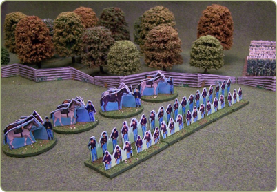Dismounted Cavalry