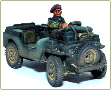British Airborne Jeep