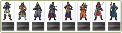 Historical Asian Soldier paper miniatures
