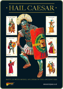 Hail Caesar rulebook cover