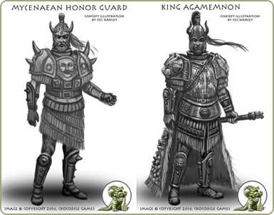 Wargods Mycenaean preview