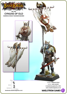 Barrow-Knight Banner Bearer