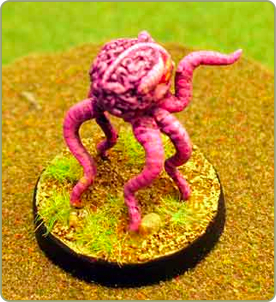 Tentacle Brain Monster