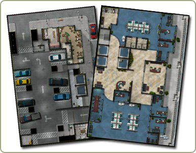 Urban map pack 1