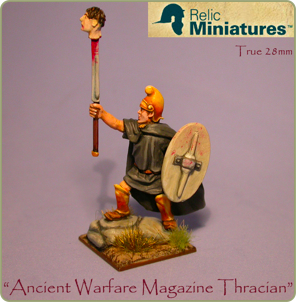 Ancient Warfare Thracian figure