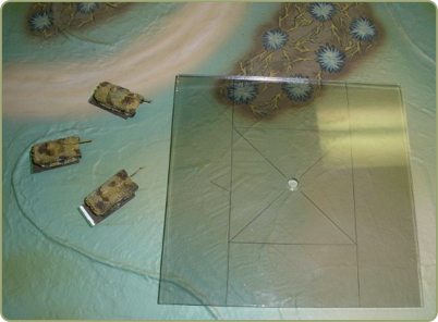 15mm to 6mm artillery conversion template