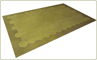 Command And Colors style Game Mats