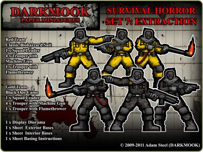 Survival Horrror Set 7: Extraction