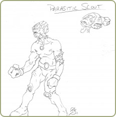 Black site parasitic scout