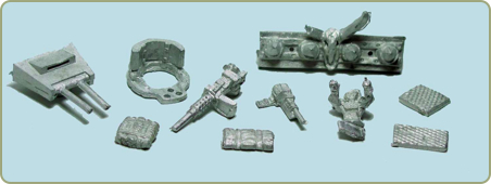 Warlands Vehicle Accessory Pack #3