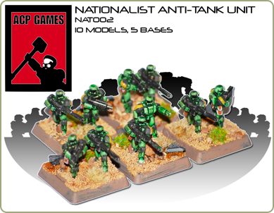 Nationalist Anti-tank unit