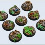 Jungle Bases WRound 30mm
