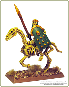 Tomb King figure with Strong Quickshade