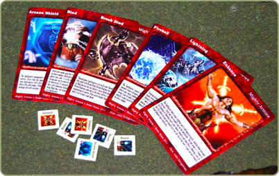 Spell Cards and Effects tokens