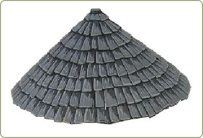 75mm Conical Roof components