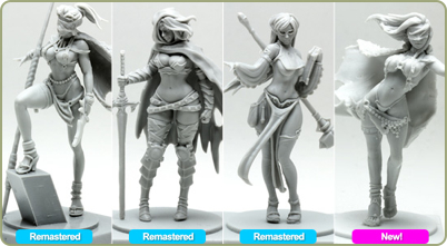 Remastered figures
