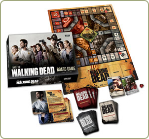 The Walking Dead game components