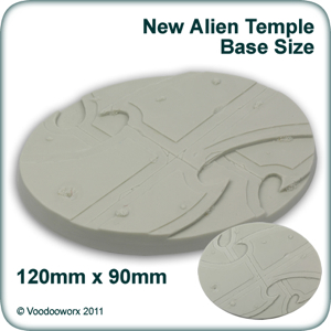 Oval Alien Temple Base