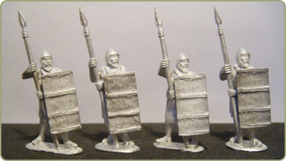 Akkadian Spearmen with Shield