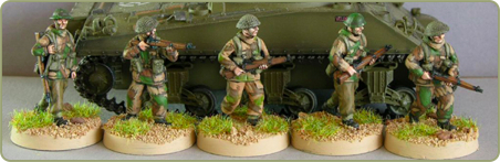 20mm WWII British infantry