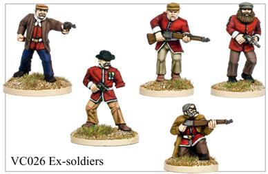 Ex soldiers